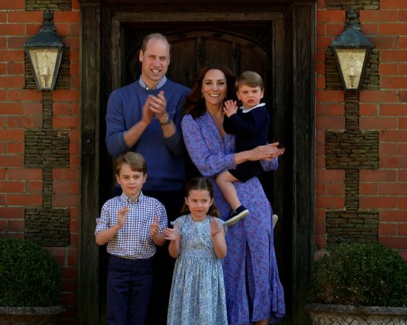 Kate Middleton and her children