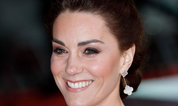 Kate has made the 'mounted brow' one of the most popular eyebrow shapes