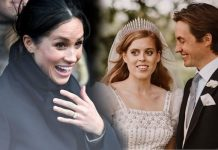 Meghan Markle and Princess Beatrice wedding