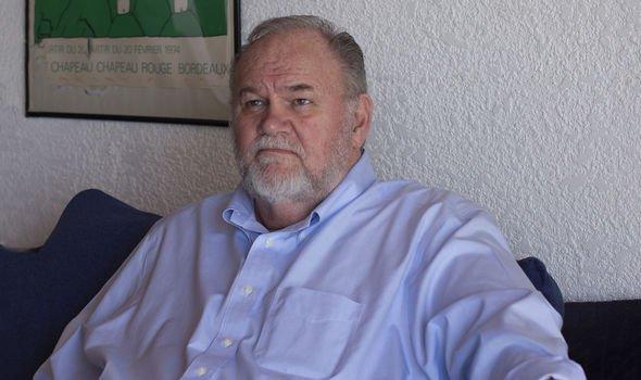 Meghan Markle's estranged father Thomas Markle
