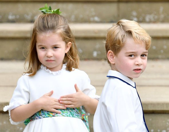 Prince George: Charlotte's brother also goes by the name of George Cambridge during school hours