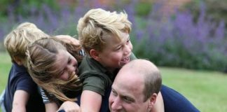 Royal heartbreak: Prince George and siblings