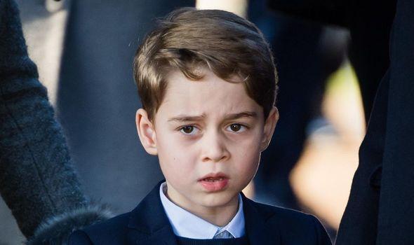 Royal heartbreak: Prince George