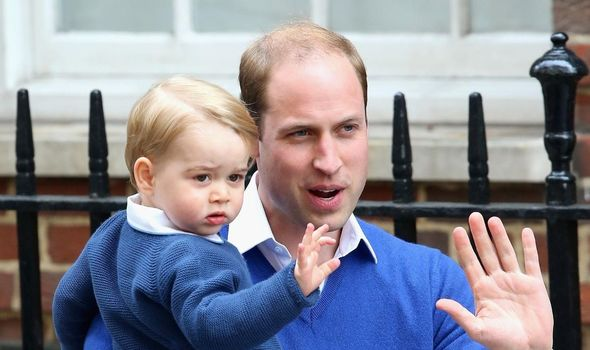 Royal heartbreak: Prince George and Prince William