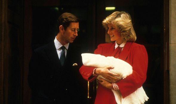 Prince William title: Prince Charles, Princess Diana and Prince Harry