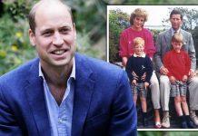 Prince William tribute: Princess Diana