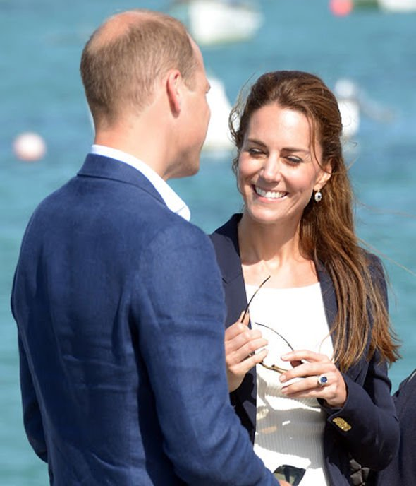 Prince William tribute: Prince William and Kate Middleton