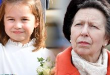 Princess Anne and Princess Charlotte
