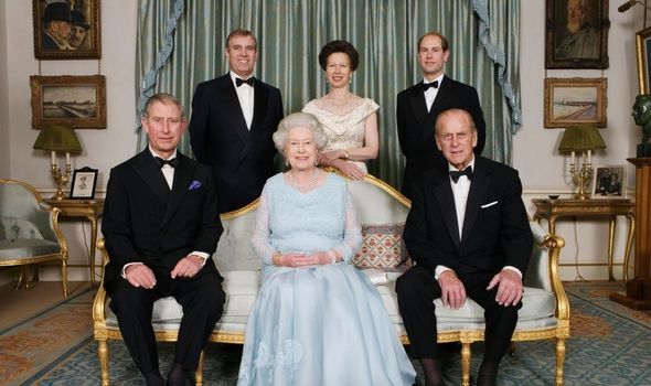 Princess Anne title snub: The Queen and Prince Philip with their children