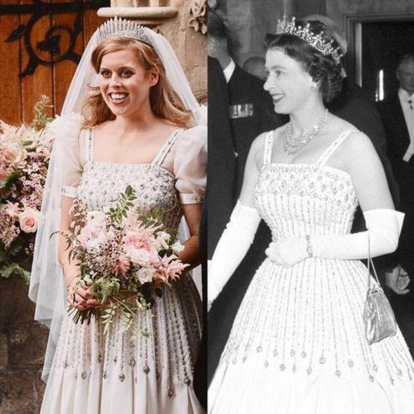 Princess Beatrice birthday: Beatrice next to Queen