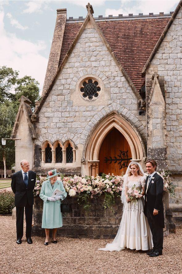 Princess Beatrice birthday: Beatrice wedding day