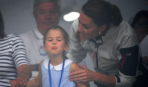 Princess Charlotte: The little royal has begun to follow in terms of her mum Kate in fashion