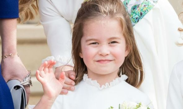Princess Charlotte snub: Princes Charlotte
