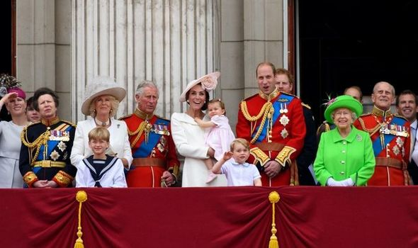 Royal baby: Royal Family