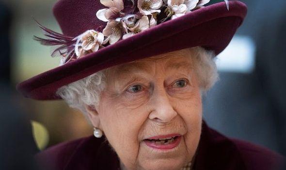 Royal celebration: Queen Elizabeth II