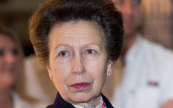Royal celebration: Princess Anne