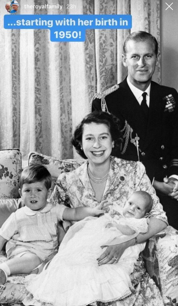 Royal celebration: Anne christening