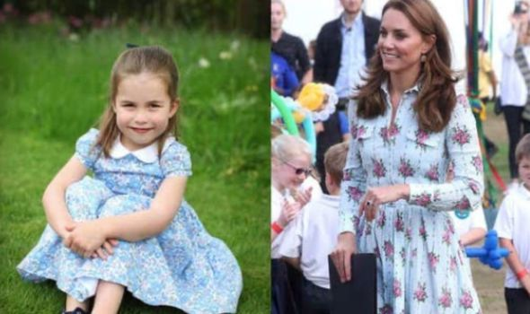 Royal news: Princess Charlotte and the Duchess of Cambridge at a garden opening last summer