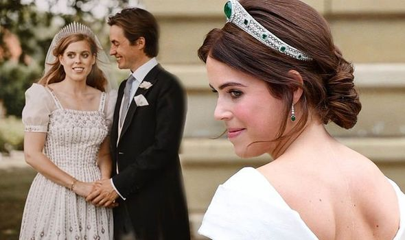 Royal wedding: Beatrice and Eugenie wedding days