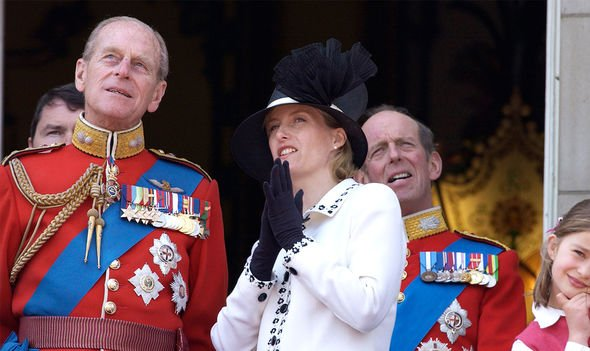 Sophie Countess of Wessex: Prince Edward Philip