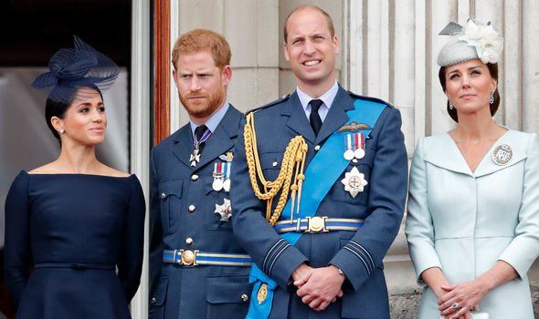 The Royal Family Fab Four