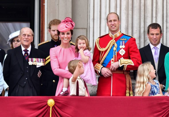 Trooping the Colour: Charlotte and Kate are pretty in pink in 2017