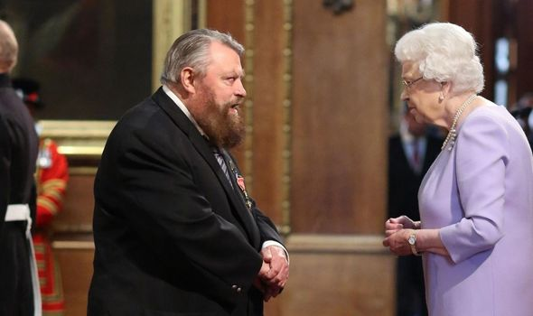 Royal news: Brian Blessed and the Queen