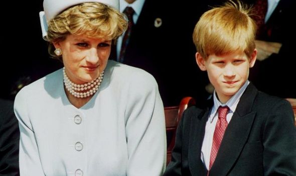 diane princess of wales prince harry royal family