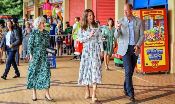 kate middleton news wales visit barry island pictures