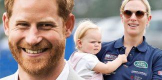 Prince Harry and Lena Tindall