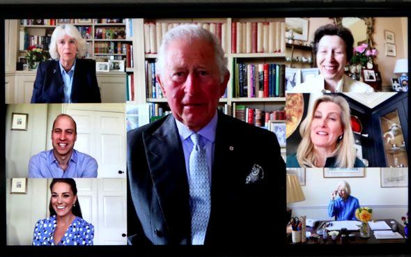 prince charles news virtual lockdown princess anne