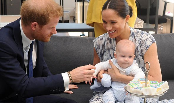 prince harry archie south africa tour meghan markle