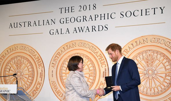 prince harry conservation
