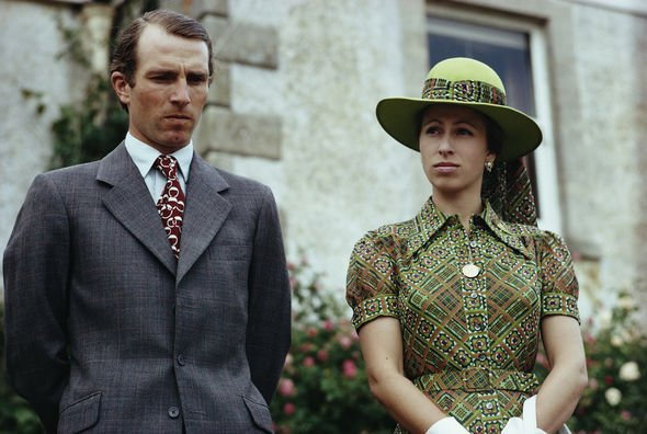 Princess Anne marriage: Princess Anne and Mark Phillips