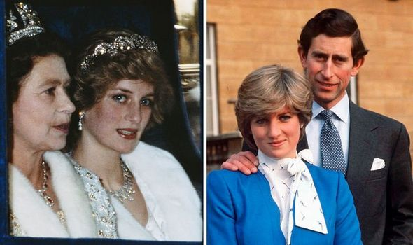 princess diana queen prince charles