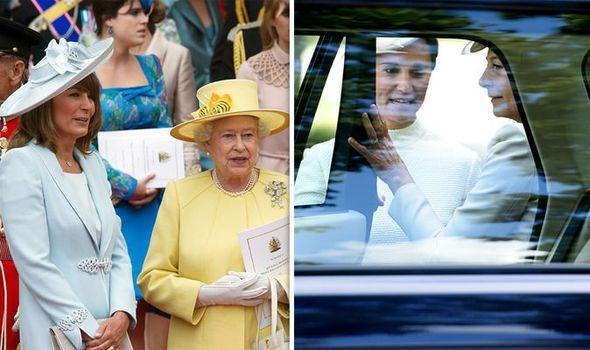 queen elizabeth ii carole middleton