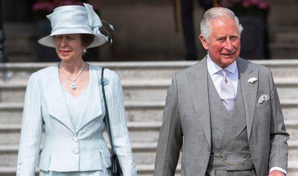royal family prince charles princess anne news