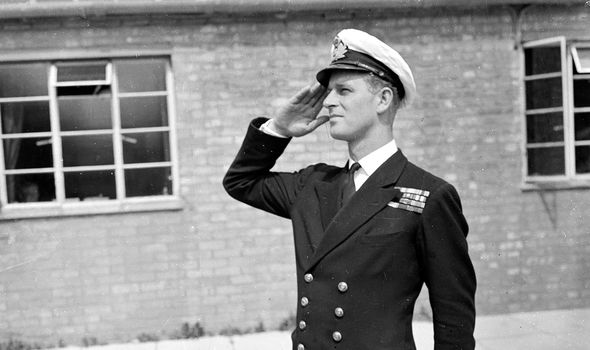 Andrew's time in the Navy reminds Philip of when he fought during WW2 with the Navy