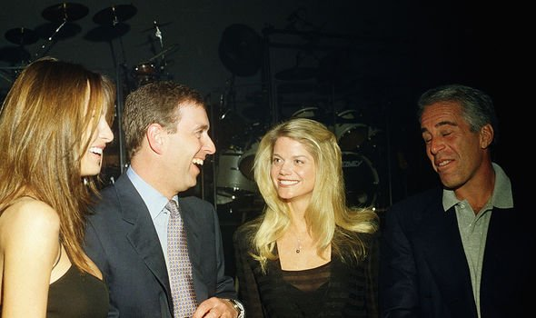 Prince Andrew has faced criticism over his association with Epstein (pictured in 2000)