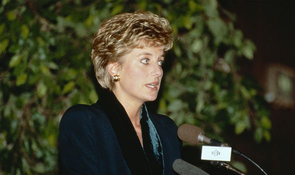Princess Diana stepped out of the spotlight in 1993