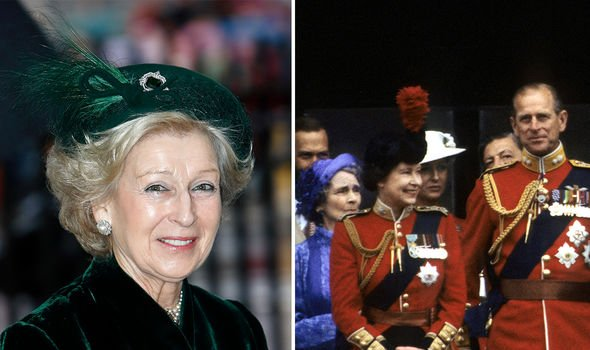 Princess Alexandra (L) was once thought to have caused a spat between the Queen and Philip
