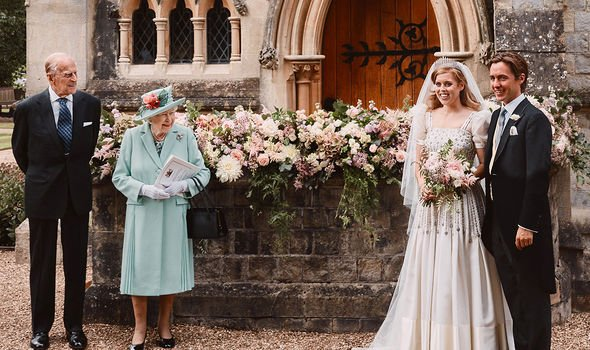 Andrew did not feature in Princess Beatrice's wedding photographs from July