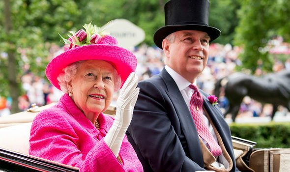 The Queen and Andrew are thought to have a close relationship