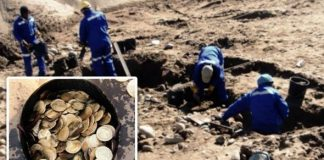 Archaeologists uncovered troves of gold