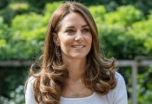 Kate Middleton in Battersea Park