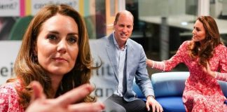 Kate Middleton and Prince William today