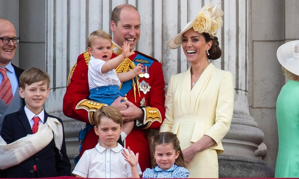 Kate Middleton reveals George Charlotte and Louis favourite celebrity