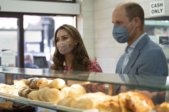 Kate and William shared their experience on making bagels with fans