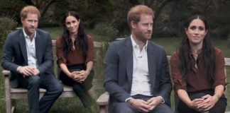 Meghan Markle and Prince Harry in the Time video
