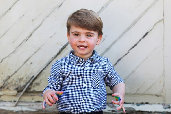 Prince Andrew title Prince Louis